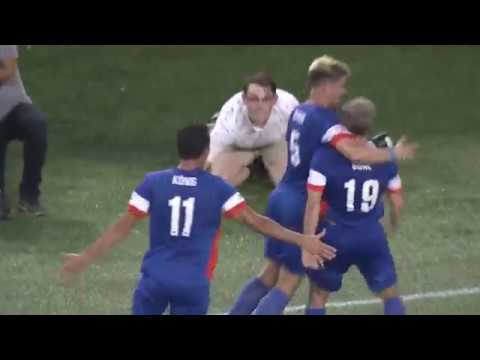 Lamar Hunt U.S. Open Cup: FC Cincinnati vs. New York Red Bulls: Corben Bone Goal - Aug. 15, 2017
