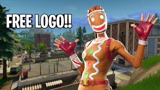 FREE FORTNITE LOGO GIVEAWAY!! EASY TO ENTER!!