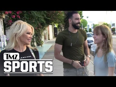 Pam Anderson Introduces French Soccer Star BF Adil Rami to Mom | TMZ Sports