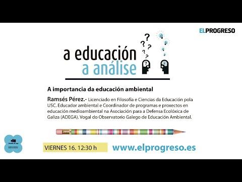 'A educación, a análise'. Con Ramsés Pérez