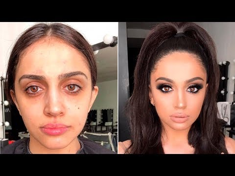 POWER OF MAKEUP   Amazing Makeup Transformation  By Goar Avetisyan