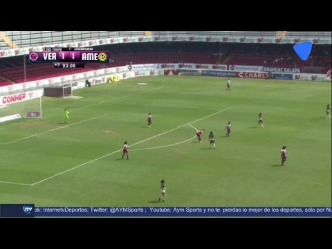 Liga Mx Veracruz Vs America Femenil Youtube