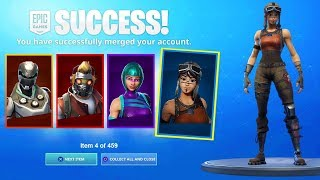 How To MERGE ACCOUNTS in Fortnite Season 10! MERGE ANY ACCOUNT! - Fortnite MERGING System!
