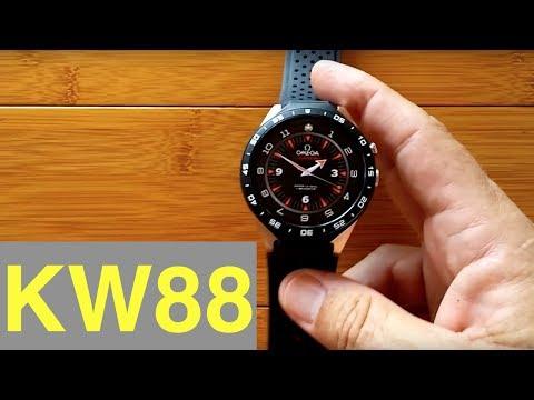 KingWear KW88 Smartwatch: Adding Custom Watch Faces