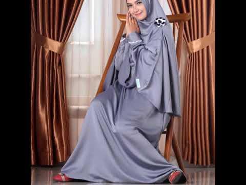 Gamis Abu Abu Cocok Dengan Jilbab Warna Apa Youtube