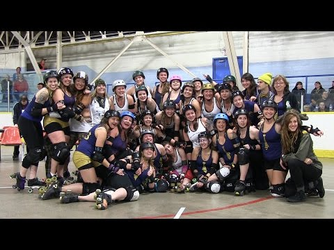 National Guard TORD Bay Street Bruisers vs Misfit Militia P2 Roller Derby 25 Oct 2014