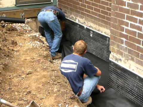 Exterior Waterproofing Youtube