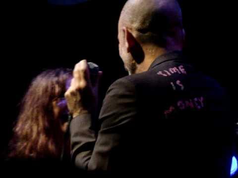 wichita lineman, micheal stipe singing to patti smith,jazz fest at tips,04/24/2010