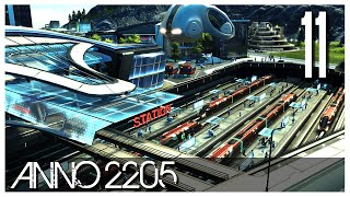 Anno 2205 - Ep.11 - Metro Stations & Investors!