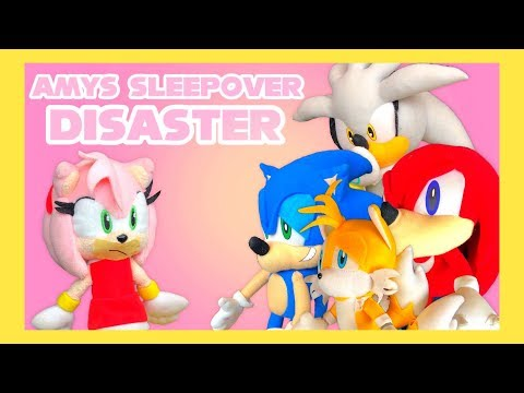 Sonic Plush & Friends: Amy's Sleepover...