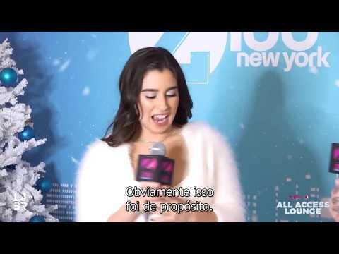 Lauren Jauregui em entrevista no Z100 All Access Lounge legendado
