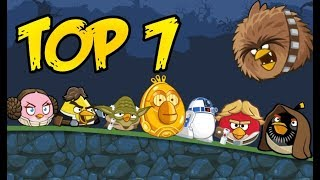 Top 7: Angry Birds Star Wars Characters in Bad Piggies: The Bird Side