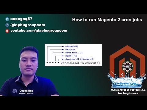 How to run Magento 2 cron jobs