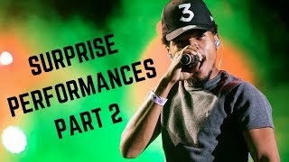 Download Rappers Make Surprise Performances Compilation Part 2 (Chance, Kanye, Jay-Z & MORE) Mp3 and Videos