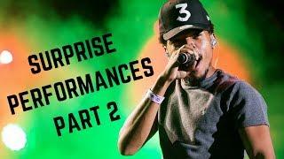 Rappers Make Surprise Performances Compilation Part 2 (Chance, Kanye, Jay-Z & MORE)