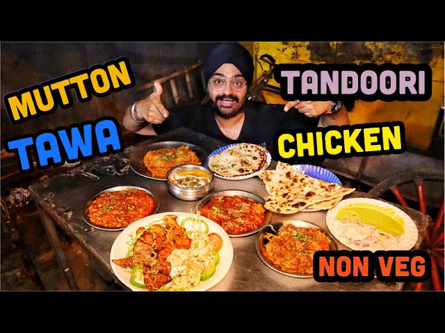 Tawa & Tandoori Mutton & Chicken dishes on Club Road, Punjabi Bagh