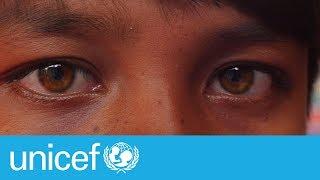 Rohingya Crisis: No child should be drawing this | UNICEF