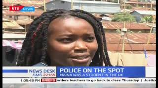 UK student MURDERED in cold blood in Kibera allegedly by police