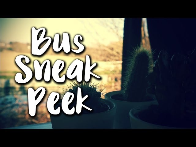 Bus Sneak Peek | Nomadidaddy