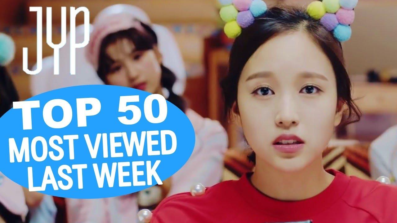 (TOP 50) MOST VIEWED JYP MUSIC VIDEOS IN ONE WEEK [20210719-20210726]