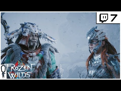 Frozen Wilds DLC - Part 7 - SAVING ARATAK - Horizon Zero Dawn DLC Let's Play (Twitch)