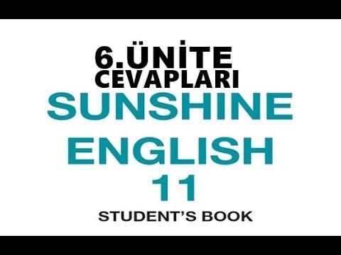 11. Sınıf İngilizce Sunshine Ders Kitabı Cevapları 6 .Ünite