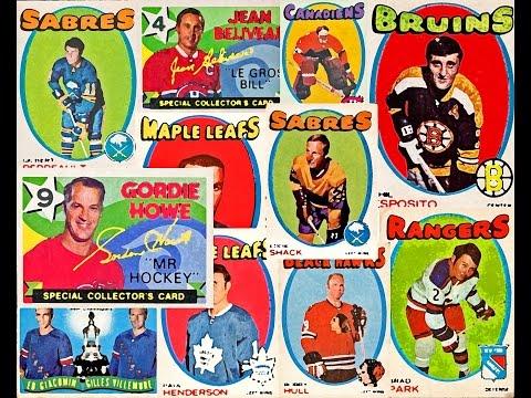 1971-72 O-Pee-Chee NHL Complete Set