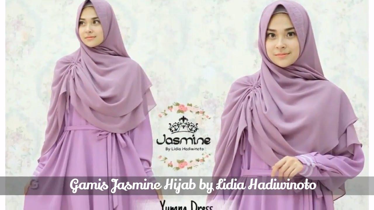 Gamis Jasmine Hijab Terbaru Gamis Chic 08151855255 Youtube