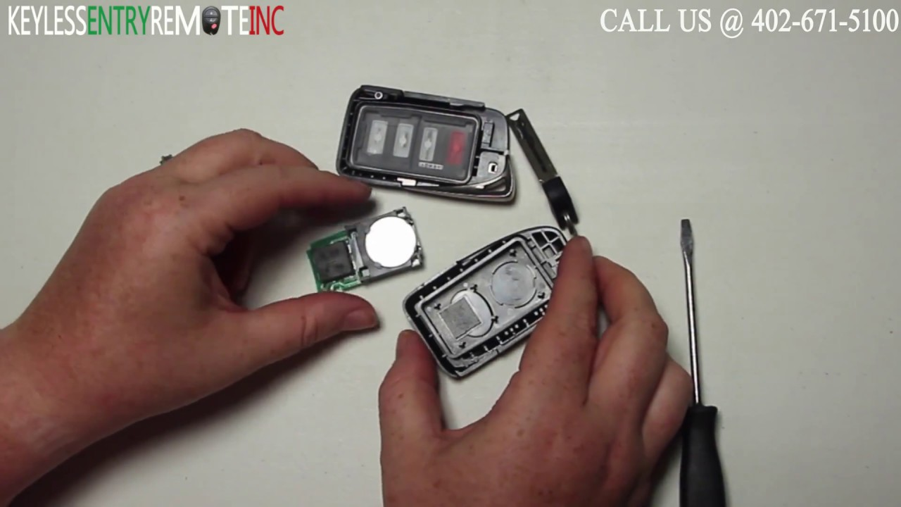 How To Replace A Lexus Is350 Key Fob Battery 2014 2016 Youtube