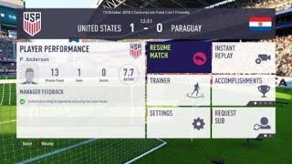 USA vs Paraguay - Go Ahead Goal