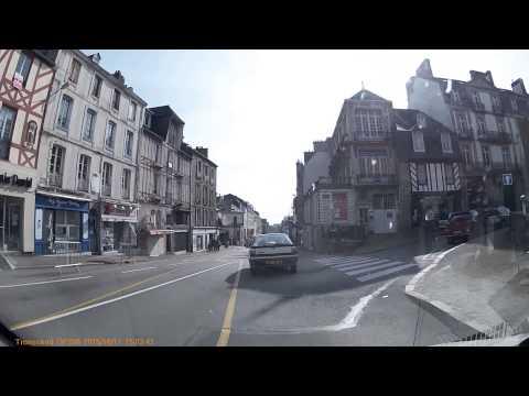 Driving In France - Bretagne - Vannes