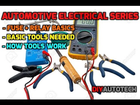 Electrical Series: Tools/Theory Of Auto Electrical Diagnosis and Repair