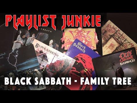 Black Sabbath Family Tree - Playlist Junkie #2