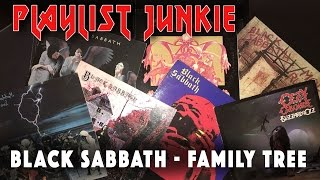 Black Sabbath Family Tree - Playlist Junkie #2