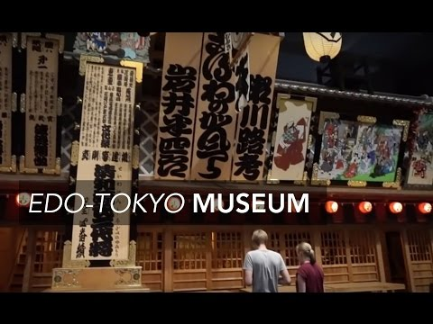 TOKYO VLOG 25 ❘ Edo-Tokyo Museum and Okinawa Soba