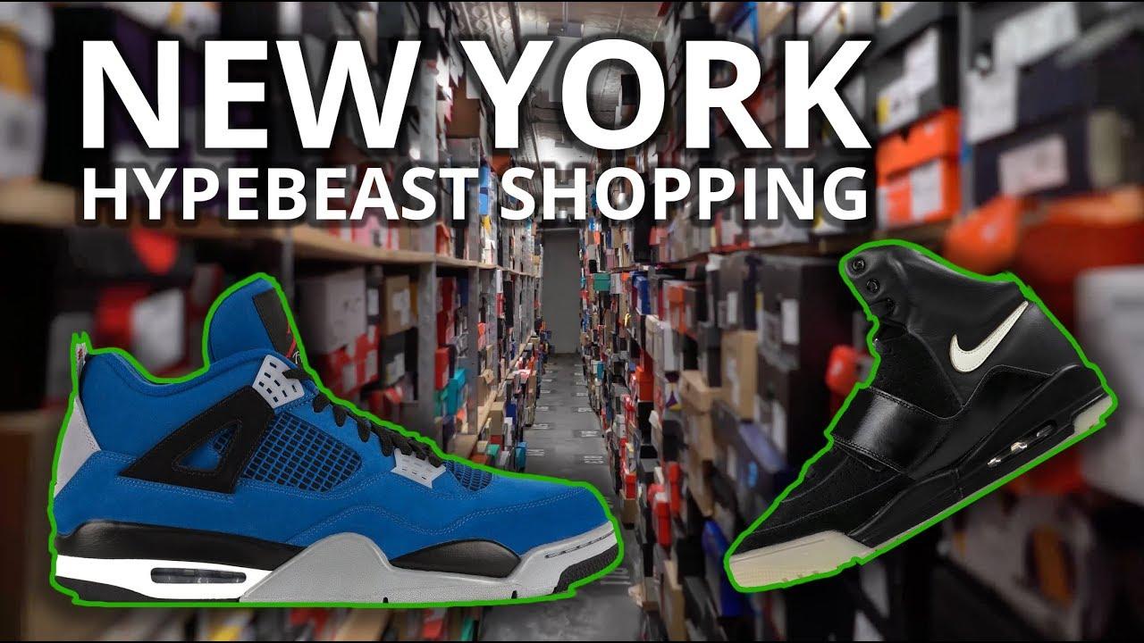promo code 57cfa b685b New York Hypebeast Shopping -  100,000 Yeezys, Stadium Goods, Flight Club,  Kith
