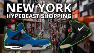sneaker shopping in nyc
