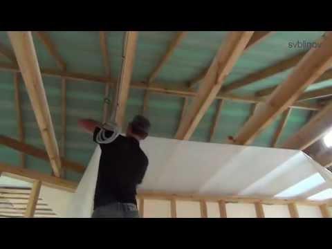 Утепление потолка в частном доме своими руками как и чем