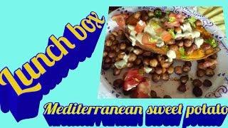 Mediterranean sweet potato  roadpro 12 volt portable stove gluten free dairy free  vegan