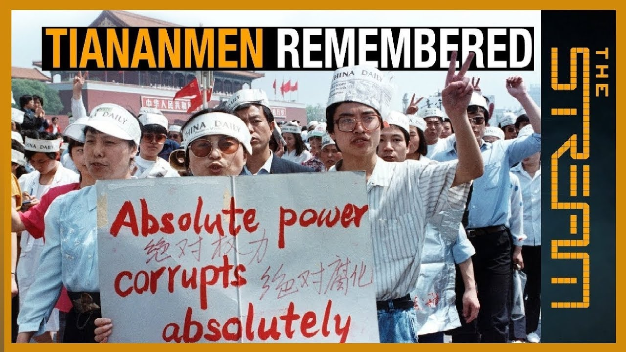 China Cannot Erase the Truth of Tiananmen