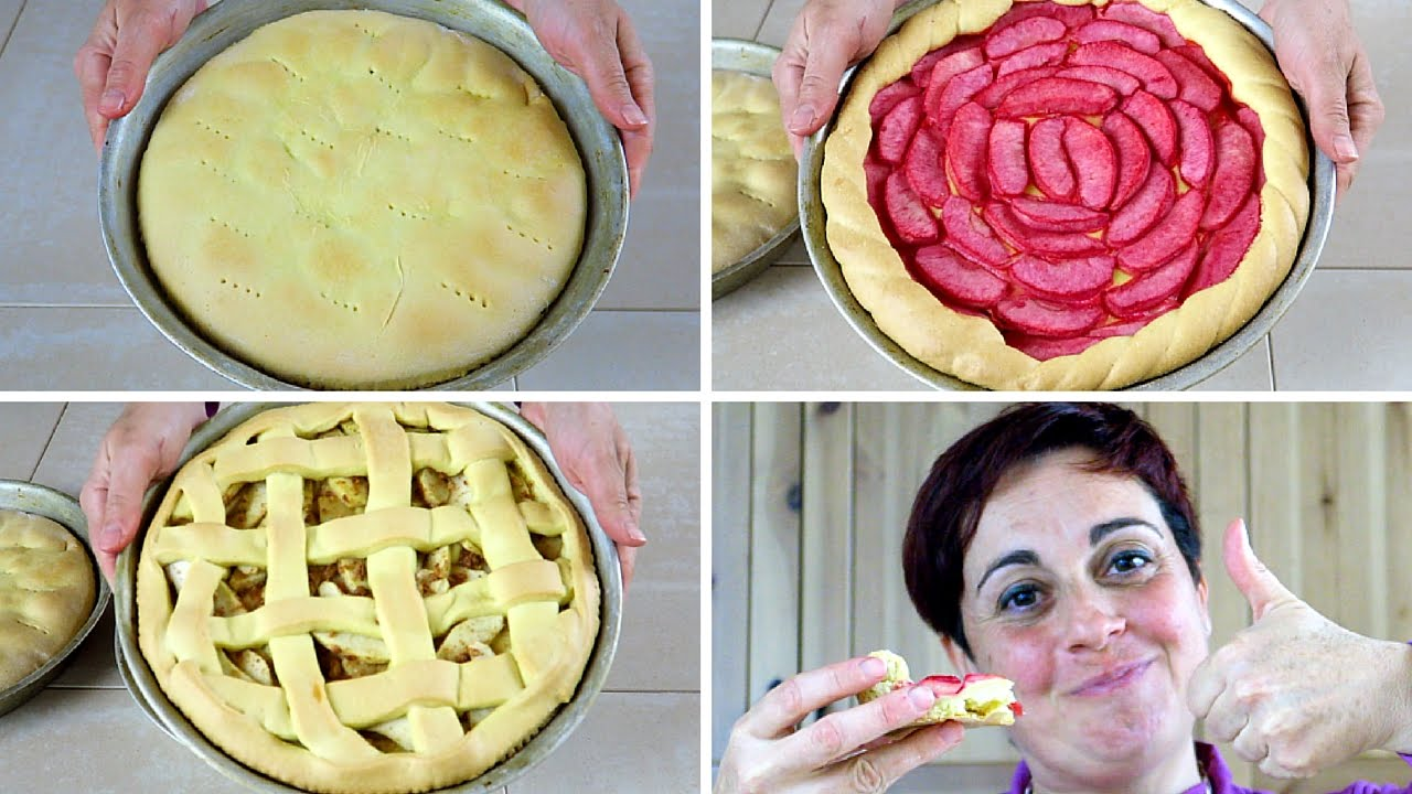 3 Modi Facili Per Fare La Crostata Di Mele 3 Easy Ways To Make