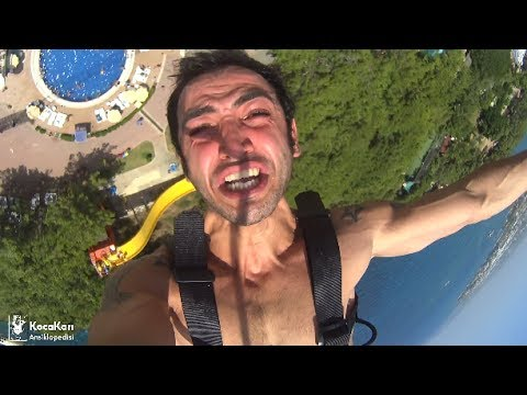 THE WORLD'S MOST SWEARFUL BUNGEE JUMPING TIME