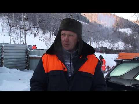 Байкальск  Авария на железной дороге