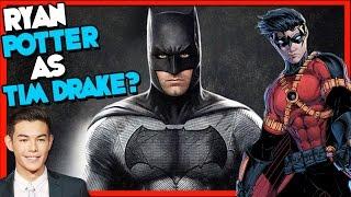 Ryan Potter as Tim Drake in Batman Solo Film?