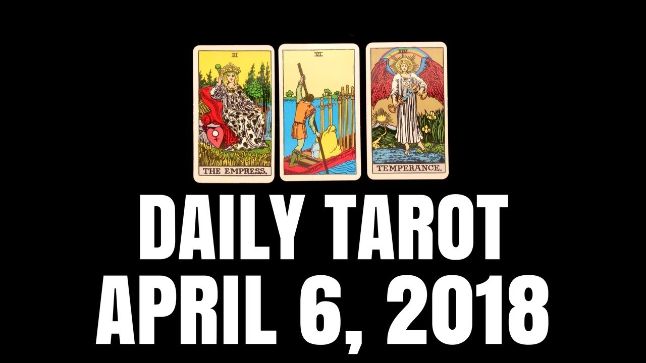 Daily Tarot Reading for April 6, 2018 - Magnetic Tarot by Magnetic Tarot · Savieo · Your #1 tool for saving videos and tracks off the open web Daily Tarot Reading for April 6, 2018 - Magnetic Tarot by Magnetic Tarot - 웹