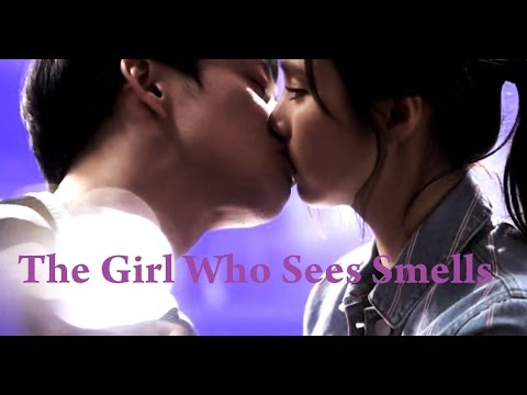 The Girl Who Sees Smells Choi Mu Gak kissing Oh Cho Rim