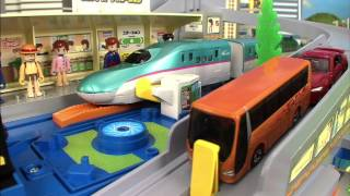 トミカ プラレール TOMICA PLARAIL VIDEO 2012 PART 2/4