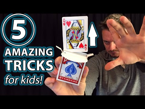 5 Awesome Magic Tricks for Kids!!