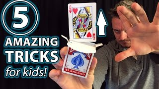 Gambar cover 5 Awesome Magic Tricks for Anyone!!