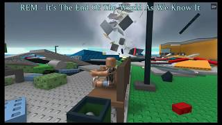 Roblox - Natrual Disaster Survival - End Of The World